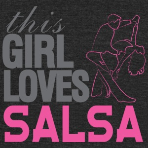This Girl Loves Salsa T-Shirts - Unisex Tri-Blend T-Shirt by American Apparel