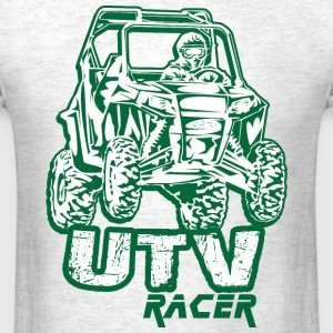 UTV Racing Green T-Shirts - Men's T-Shirt