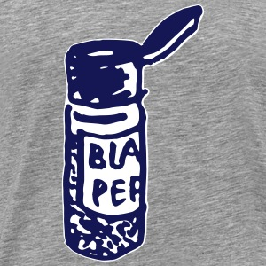 black pepper shaker - Men's Premium T-Shirt