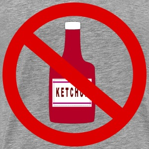 Ketchup forbidden - Men's Premium T-Shirt