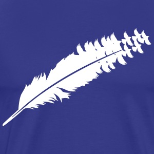 Bird feather Shirt - Men's Premium T-Shirt
