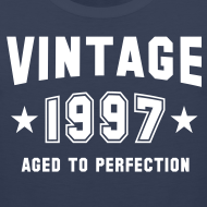 Design ~ Vintage 1997 aged to perfection