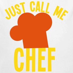 Just call me CHEF cook cooking funny Baby & Toddler Shirts - Long Sleeve Baby Bodysuit