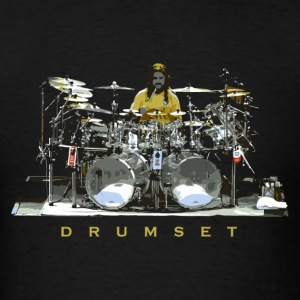 Drumset Drum Music - Men's T-Shirt