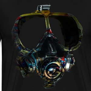 graffiti mask - Men's Premium T-Shirt