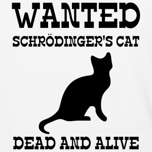 Wanted Schrödinger's Cat - Dead And Alive T-Shirts - Baseball T-Shirt