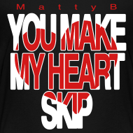 Design ~ Heart Skip Kids T-Shirt