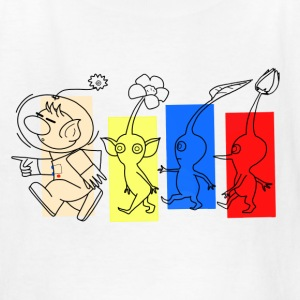 Happy Trails Pikmin Kids - Kids' T-Shirt
