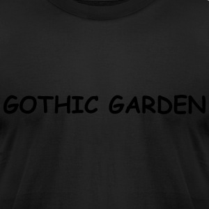 GOTHIC GARDEN - Men's T-Shirt by American Apparel