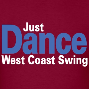 Just Dance West Coast Swing - Men's T-Shirt
