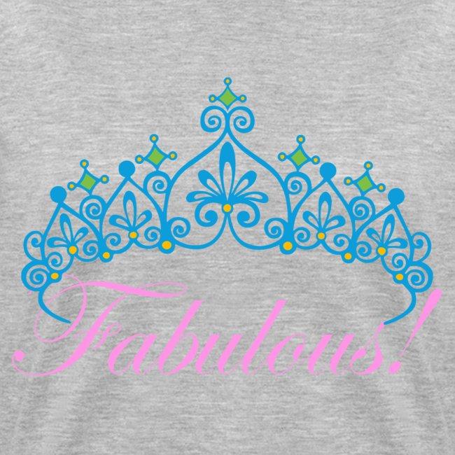 Fabulous Women's Deep V-Neck Marble T-SHirt