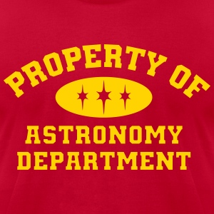 Property Of Astronomy Department - Men's T-Shirt by American Apparel