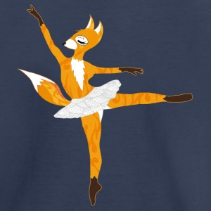 A fox wearing a ballet dress Baby & Toddler Shirts - Toddler Premium T-Shirt