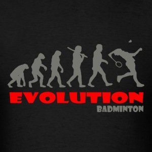 Badminton ape of Evolution - Men's T-Shirt