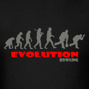Bowling ape of Evolution - Men's T-Shirt