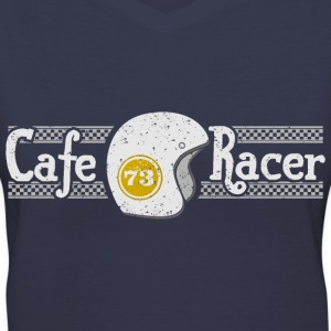 cafe racer - Women's V-Neck T-Shirt