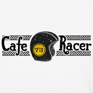 cafe racer black - Baseball T-Shirt