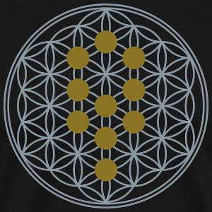 Flower of Life, Tree of Life, Kabbalah, Sephiroth T-Shirts - Men's Premium T-Shirt