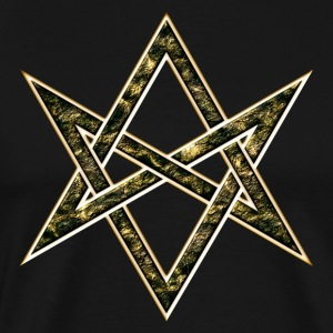 Unicursal Hexagram, Magic, Mystic, Occult, Symbol T-Shirts - Men's Premium T-Shirt