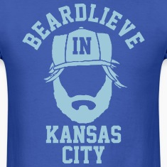 Beardlieve In KC T-Shirts