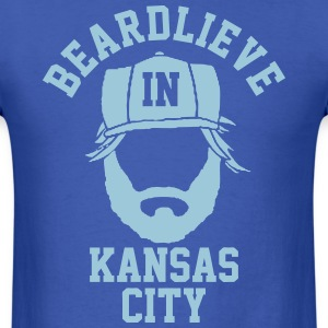 Beardlieve In KC T-Shirts - Men's T-Shirt