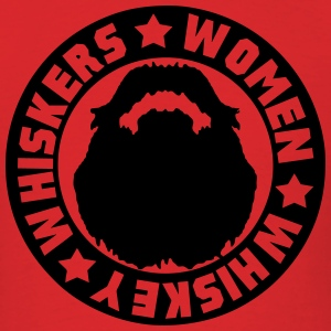 Whiskey Whiskers Women T-Shirts - Men's T-Shirt
