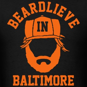 Beardlieve in Baltimore T-Shirts - Men's T-Shirt