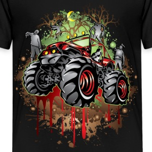 Mudding Halloween Jeep Kids' Shirts - Kids' Premium T-Shirt
