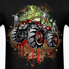 Mudding Halloween Jeep T-Shirts