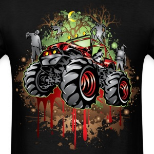 Mudding Halloween Jeep T-Shirts - Men's T-Shirt