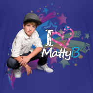 Design ~ MattyB Stars & Hearts Kids T-Shirt