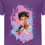 Design ~ MattyB Neon Kids T-Shirt