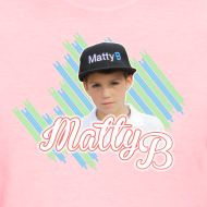 Design ~ MattyB Stripe Womens T-Shirt