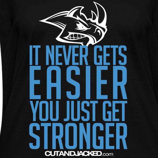 Stronger| CutAndJacked | Womens Tee