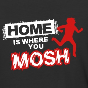 Home is where you mosh T-Shirts - Baseball T-Shirt