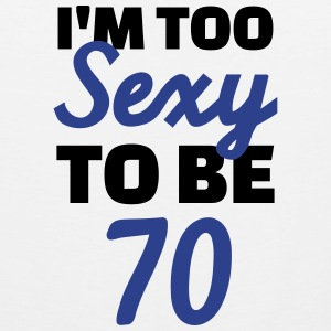 Sexy 70 Birthday Men - Men's Premium Tank