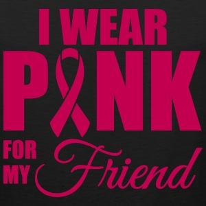 I wear pink for my friend Men - Men's Premium Tank