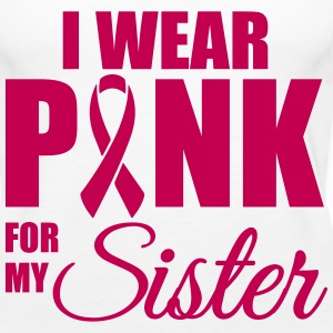 I wear pink for my sister Tanks - Women's Premium Tank Top