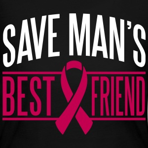 Save man's best friend Long Sleeve Shirts - Women's Long Sleeve Jersey T-Shirt