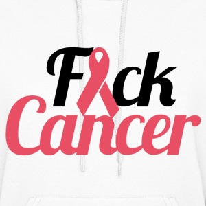 FUCK breast cancer - Women's Hoodie