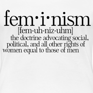 Feminism Definition - Women's Premium T-Shirt