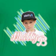 Design ~ MattyB Stripe Kids T-Shirt