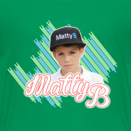 Design ~ MattyB Stripe Kids T-Shirt