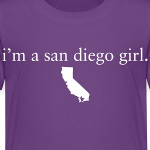 San Diego Girl Girls Pride Represent T-Shirt Tops Baby & Toddler Shirts - Toddler Premium T-Shirt