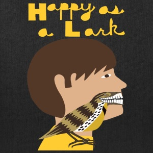 happy as a lark Bags & backpacks - Tote Bag