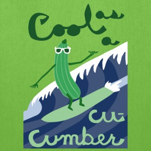 cool as a cucumber Bags & backpacks - Tote Bag