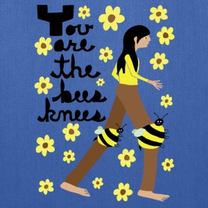 you are the bees knees Bags & backpacks - Tote Bag