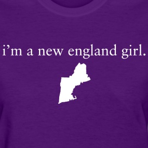 New England Girl Girls Apparel Clothing Pride T-S Women's T-Shirts - Women's T-Shirt