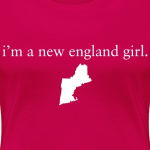 New England Girl Girls Apparel Clothing Pride T-S Women's T-Shirts - Women's Premium T-Shirt
