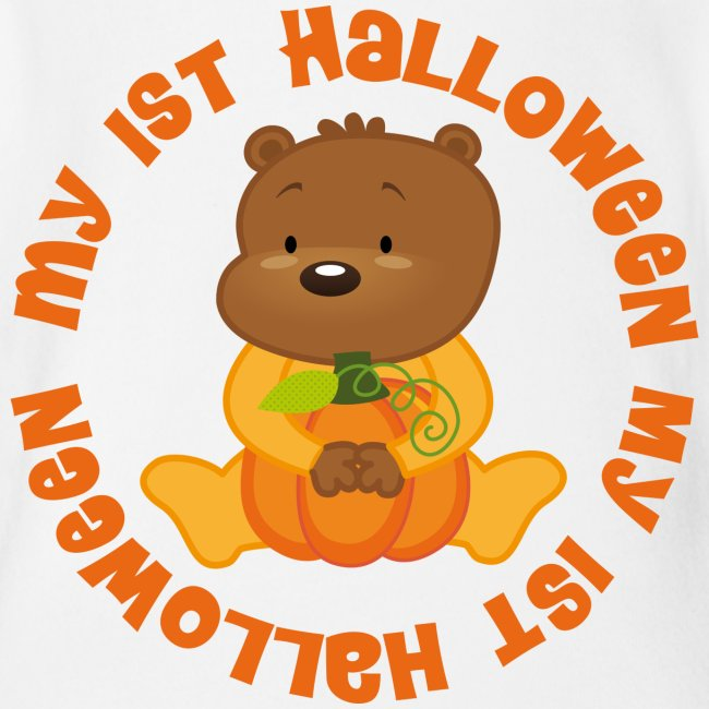 cute babys 1st halloween baby tshirt